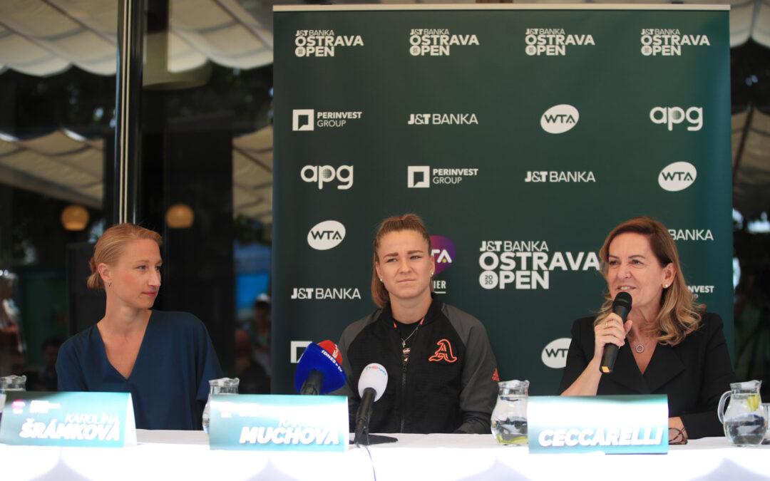 SVĚTOVÝ TENIS V OSTRAVĚ! DO KALENDÁŘE WTA NOVĚ ŘADÍ J&T BANKA OSTRAVA OPEN 2020