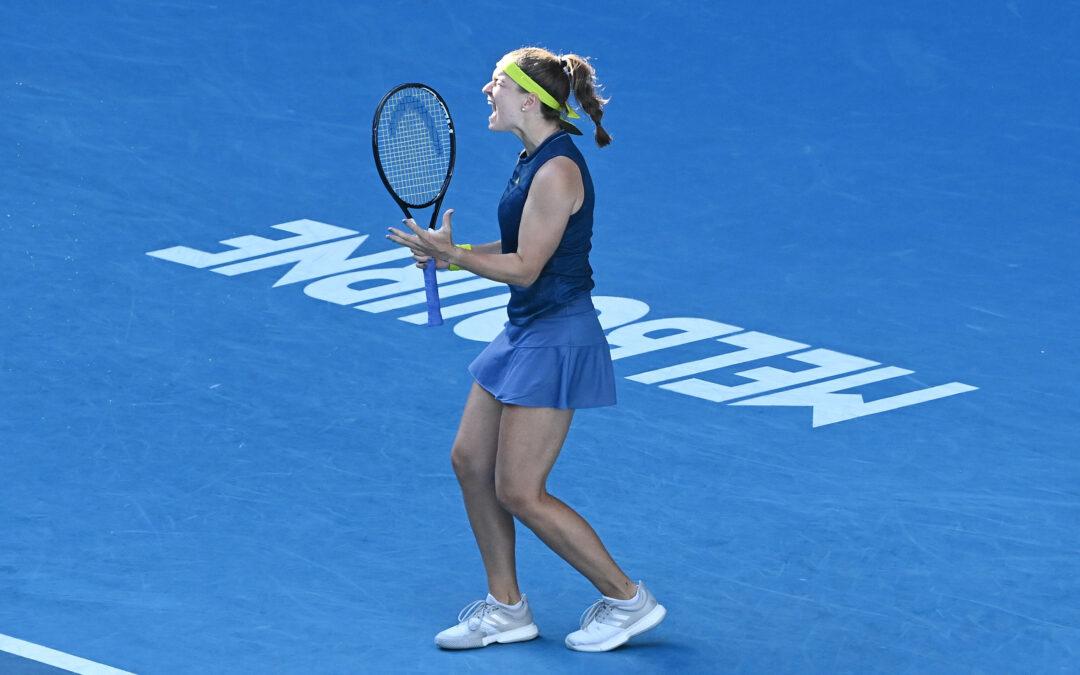 Karolína Muchová postoupila na Australian Open do semifinále